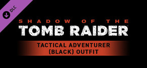 Shadow of the Tomb Raider - Tactical Adventurer (Black) Outfit cover art