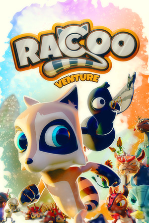 Raccoo Venture poster image on Steam Backlog