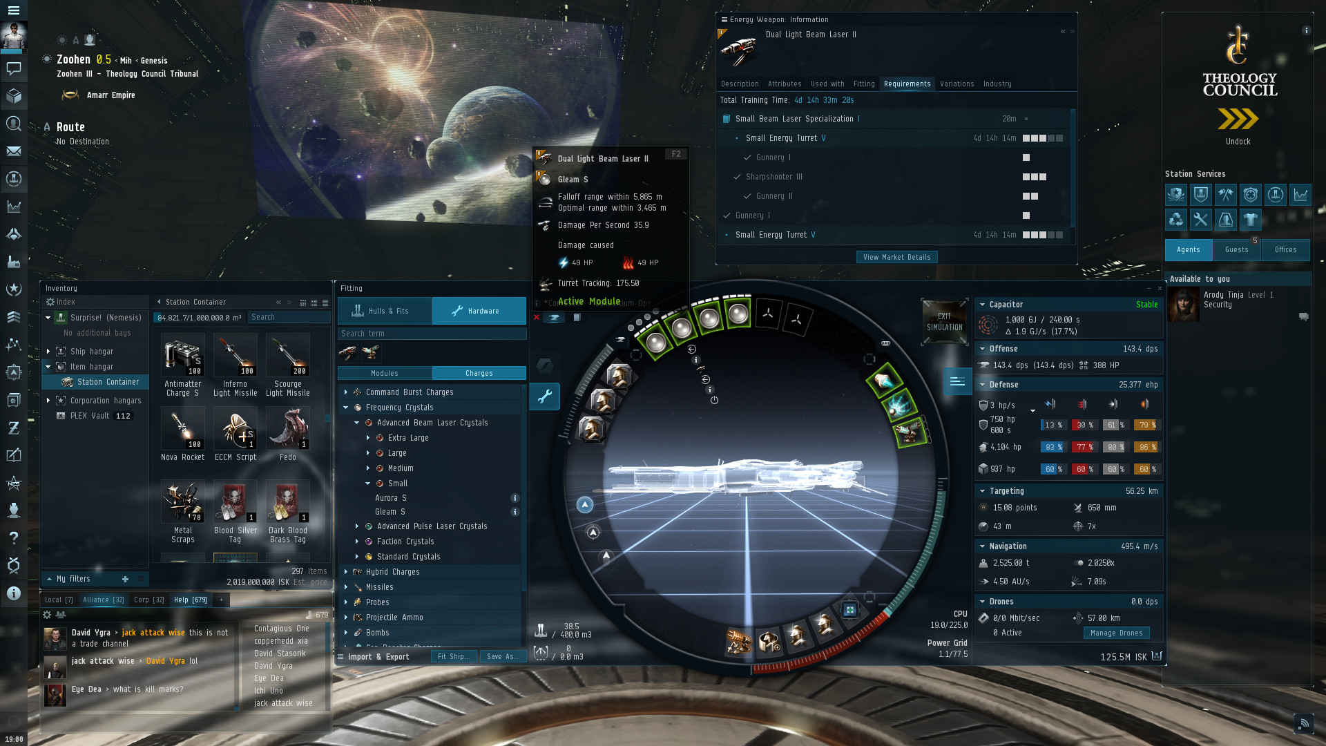 EVE Online System Requirements - Can I Run It? - PCGameBenchmark
