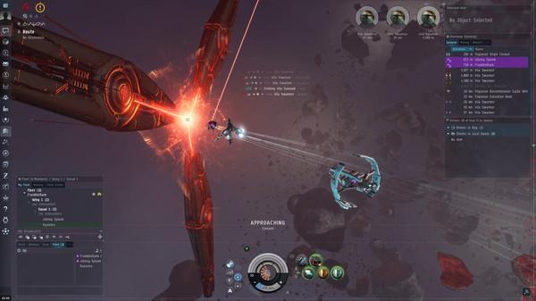 Скриншот из EVE Online
