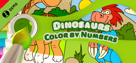 Color by Numbers - Dinosaurs Demo