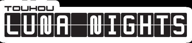 Touhou Luna Nights logo