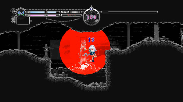 Screenshot of Touhou Luna Nights
