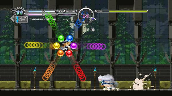 Screenshot of Touhou Luna Nights