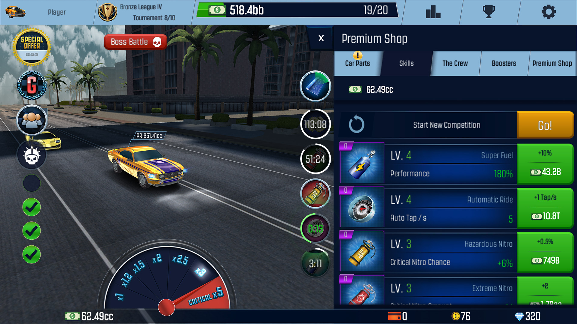 Drag Racing Best Car Level 5 Boss Drag racing boss level 5how to