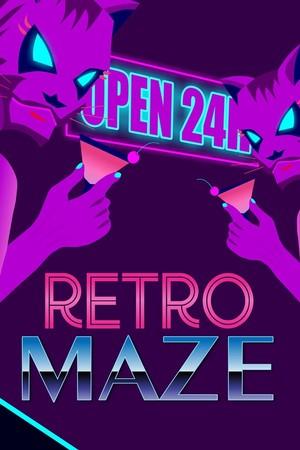 RetroMaze poster image on Steam Backlog