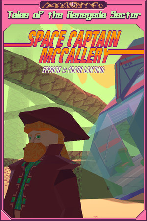 Space Captain McCallery - Episode 1: Crash Landing poster image on Steam Backlog