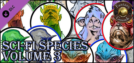 Купить Fantasy Grounds - Sci-fi Species, Volume 3 (Token Pack) (DLC)
