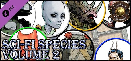 Fantasy Grounds - Sci-fi Species, Volume 2 (Token Pack)