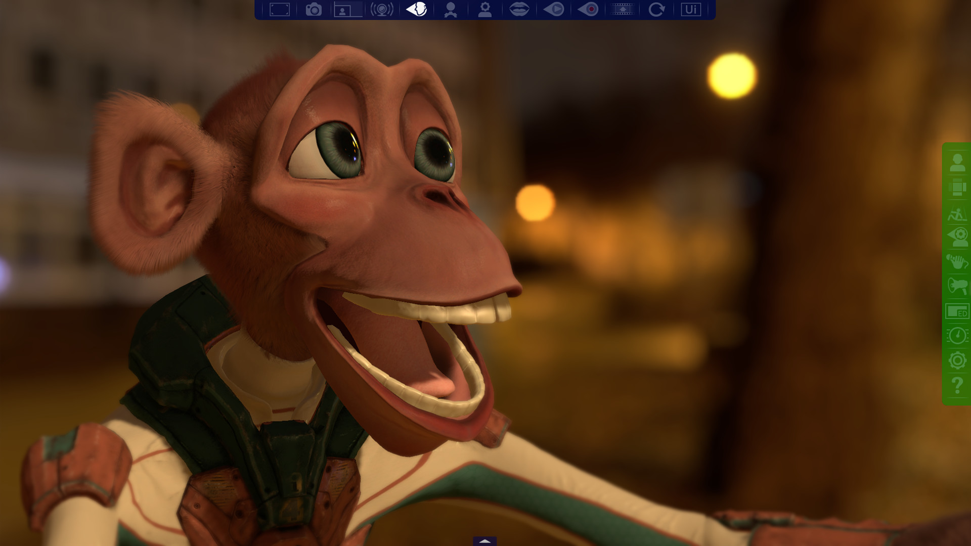 FaceRig Twiggy the Monkey Avatar Steam Discovery