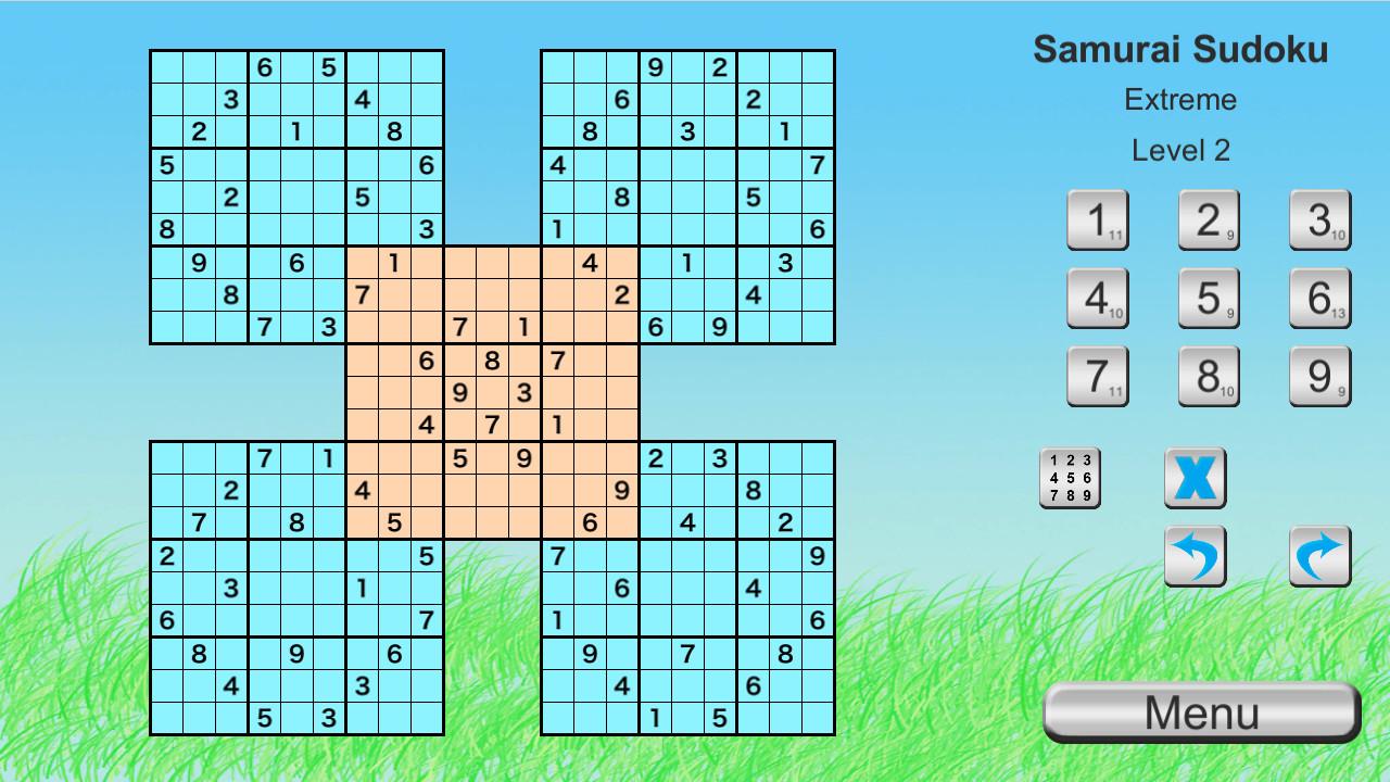 Ultimate Sudoku Collection - Samurai Expert Pack