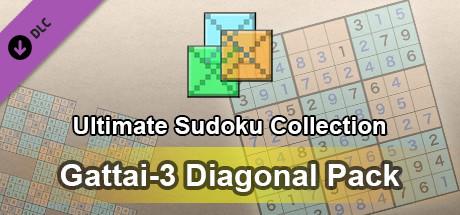 Ultimate Sudoku Collection - Gattai-3 Diagonal Pack