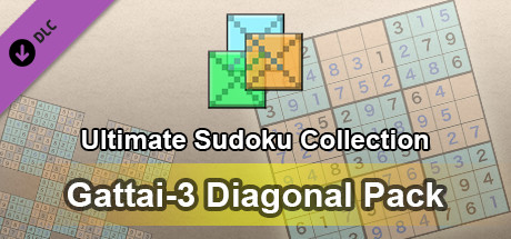 Ultimate Sudoku Collection - Gattai-3 Diagonal Pack