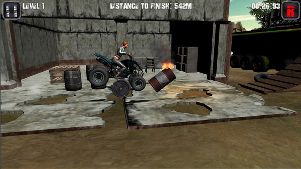 Motorcycle, tricycle, ATV hill racing
