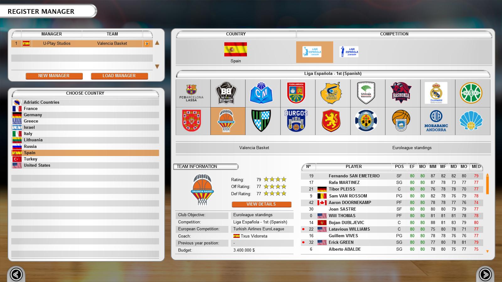 International Basketball Manager On Steam