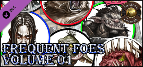 Fantasy Grounds - Frequent Foes, Volume 1 (Token Pack)