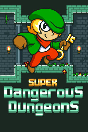 Super Dangerous Dungeons poster image on Steam Backlog