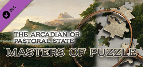 Masters of Puzzle - The Arcadian or Pastoral State by Thomas Cole