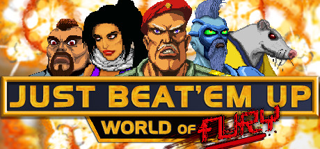 Just Beat Em Up : World of Fury cover art