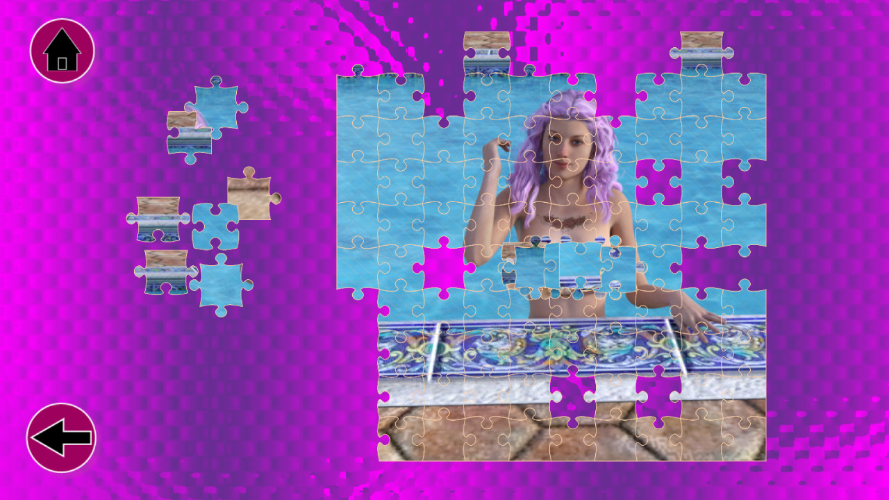 Erotic Jigsaw Challenge Vol  1