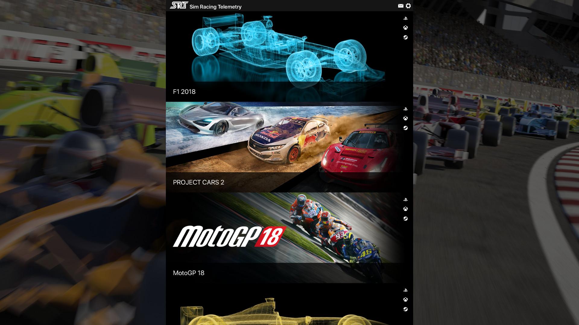 Sim Racing Telemetry - Project Cars 2