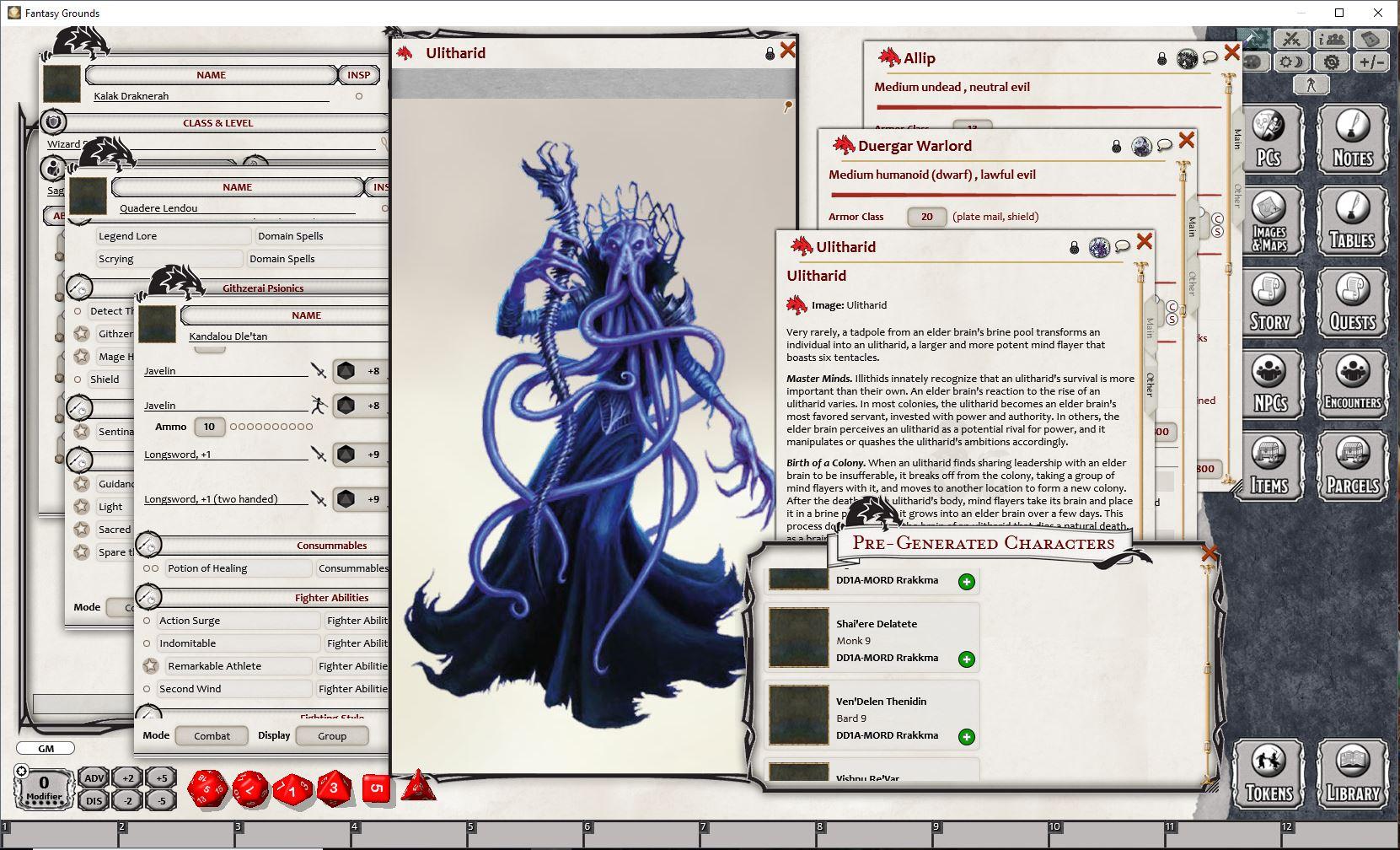 Fantasy Grounds - D&D Adventurers League: Rrakkma
