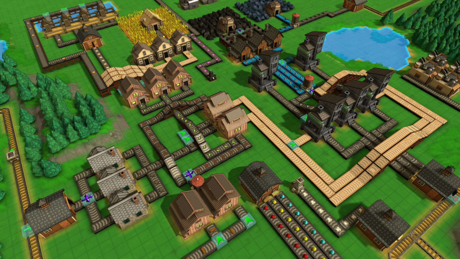 Factory Town Screenshot 3