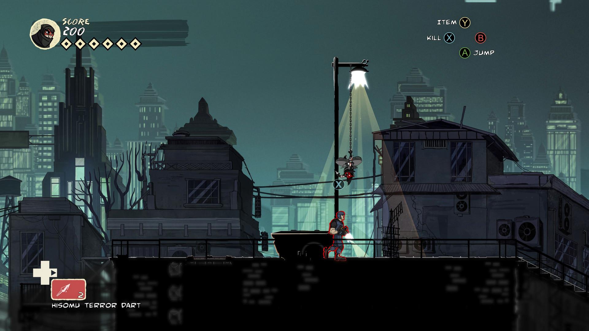 Mark of the Ninja: Remastered screenshot 2
