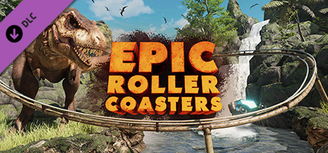 Epic Roller Coasters — T-Rex Kingdom