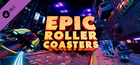 Epic Roller Coasters: Neon Rider 2018 pc game Img-1