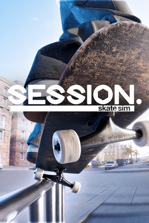 Session: Skateboarding Sim Game poster image on Steam Backlog