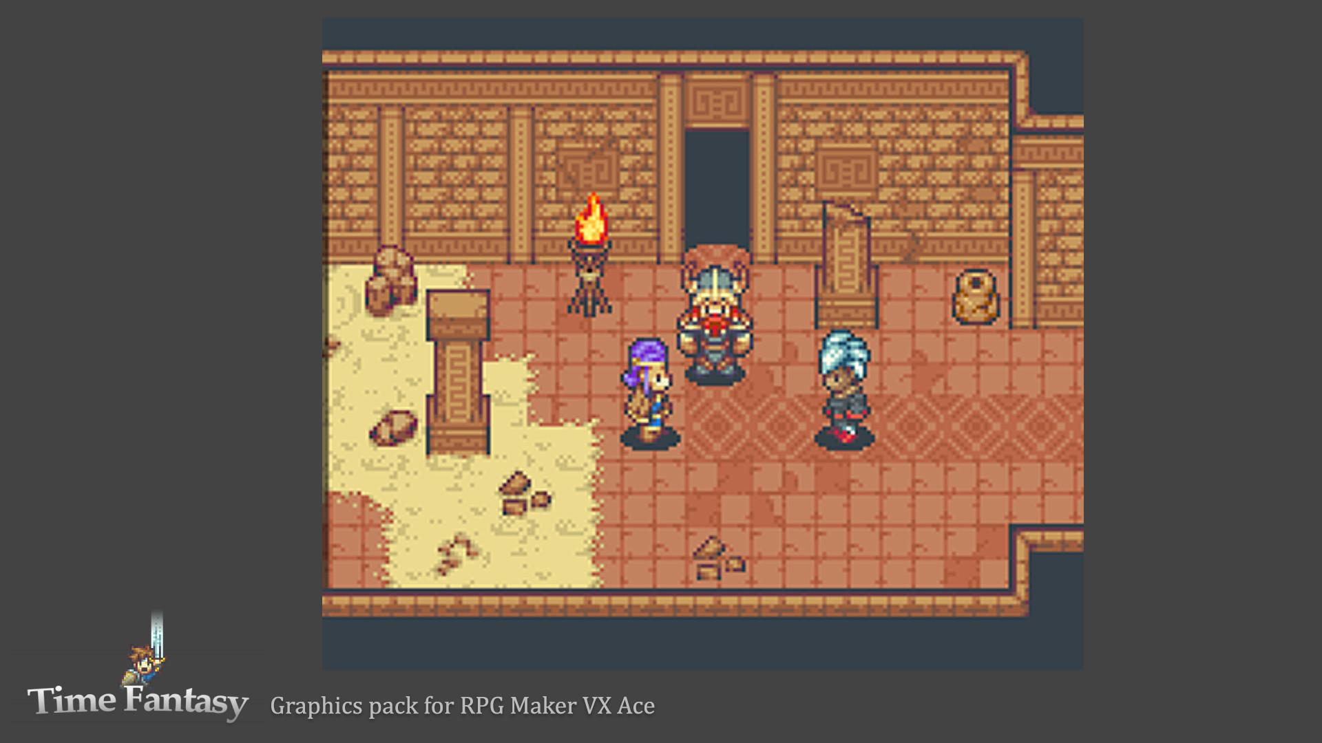 RPG Maker MV - Time Fantasy