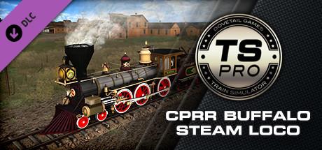 Train Simulator: CPRR 4-6-0 Buffalo Steam Loco Add-On on Steam