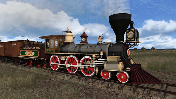 скриншот Train Simulator: CPRR 4-6-0 Buffalo Steam Loco Add-On 0