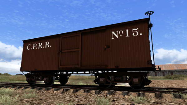 скриншот Train Simulator: CPRR 4-6-0 Buffalo Steam Loco Add-On 5