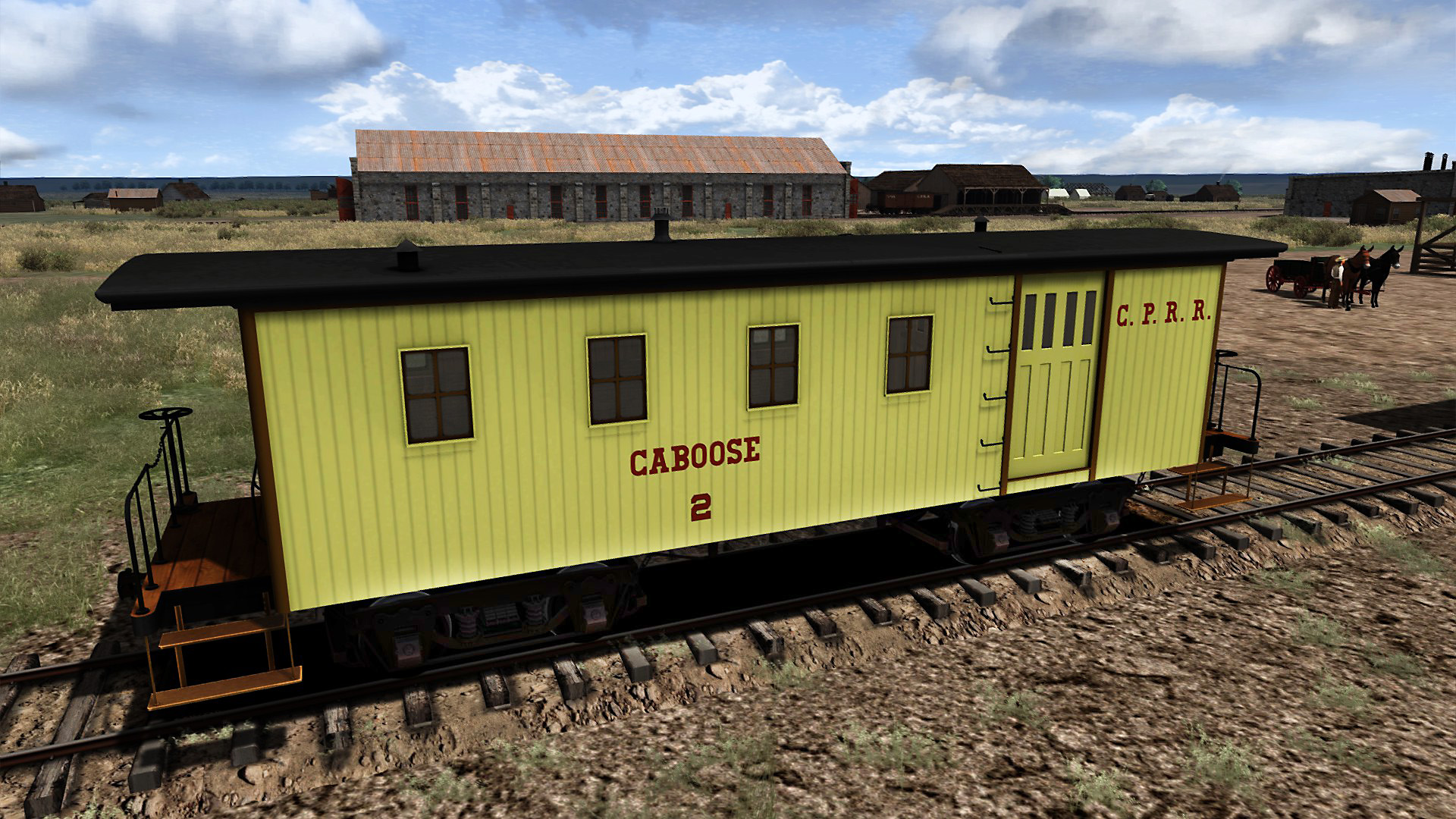 Train Simulator: CPRR 4-6-0 Buffalo Steam Loco Add-On