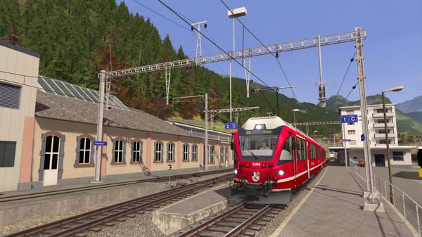 скриншот Train Simulator: Bernina Pass: St Moritz – Poschiavo Route Add-On 0