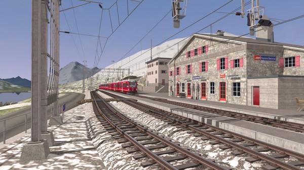 скриншот Train Simulator: Bernina Pass: St Moritz – Poschiavo Route Add-On 4