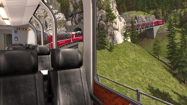 скриншот Train Simulator: Bernina Pass: St Moritz – Poschiavo Route Add-On 2