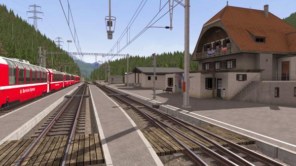 скриншот Train Simulator: Bernina Pass: St Moritz – Poschiavo Route Add-On 3