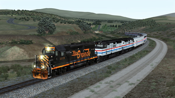 скриншот TS Marketplace: GP40-2 Mini Scenario Pack 01 Add-On 1