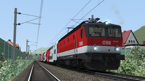 скриншот Train Simulator: ÖBB 1144 & CityShuttle Wiesel Loco Add-On 5