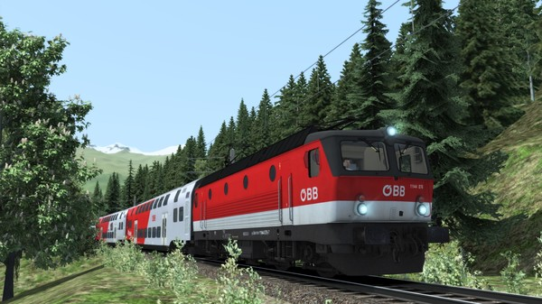скриншот Train Simulator: ÖBB 1144 & CityShuttle Wiesel Loco Add-On 0
