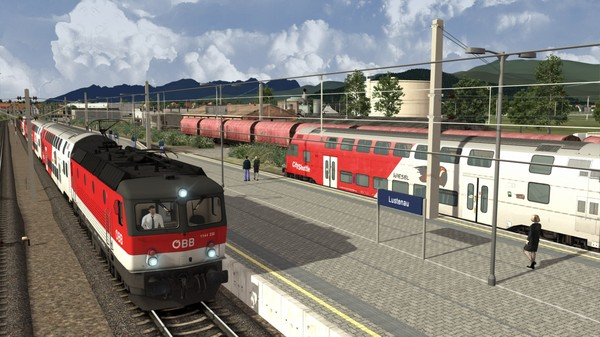 скриншот Train Simulator: ÖBB 1144 & CityShuttle Wiesel Loco Add-On 4