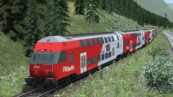 скриншот Train Simulator: ÖBB 1144 & CityShuttle Wiesel Loco Add-On 1
