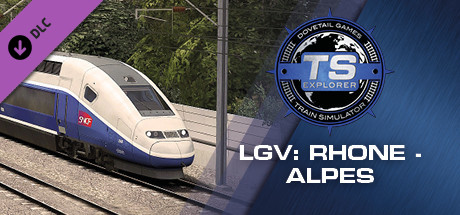Train Simulator: LGV Rhône-Alpes & Méditerranée Route Extension Add-On
