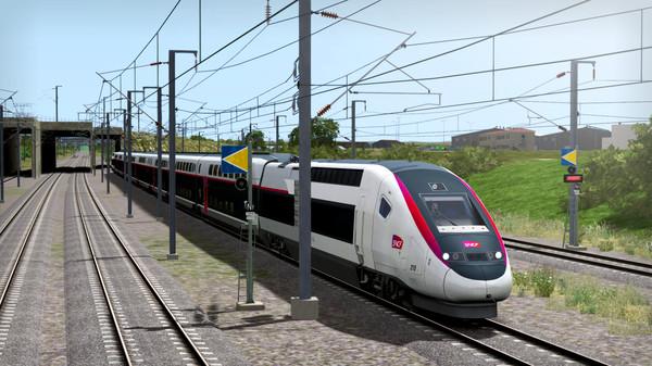 скриншот Train Simulator: LGV Rhône-Alpes & Méditerranée Route Extension Add-On 1