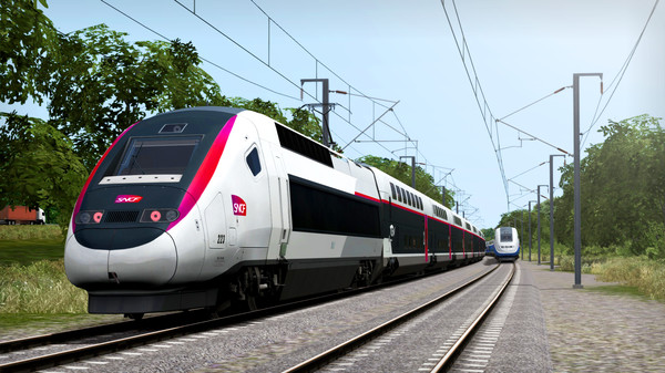 скриншот Train Simulator: LGV Rhône-Alpes & Méditerranée Route Extension Add-On 0