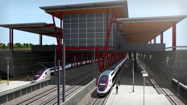 скриншот Train Simulator: LGV Rhône-Alpes & Méditerranée Route Extension Add-On 2