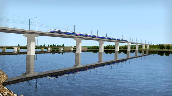 скриншот Train Simulator: LGV Rhône-Alpes & Méditerranée Route Extension Add-On 5